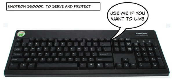 tastatura ucigaşă