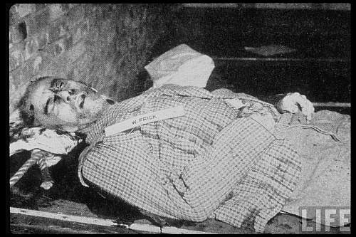 Ministrul de Interne al lui Hitler Wilhelm Frick după execuţie