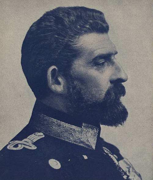 Regele Ferdinand dupa incoronare in 1914