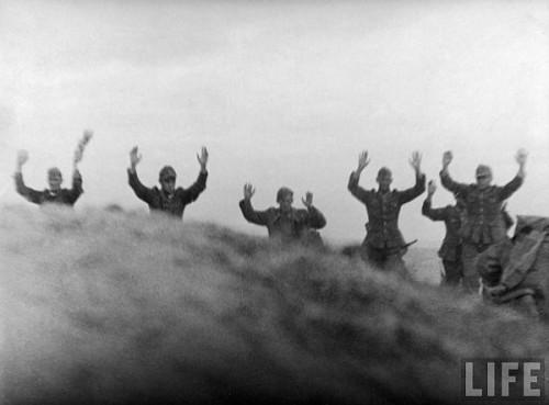 Infanteristi germani se predau